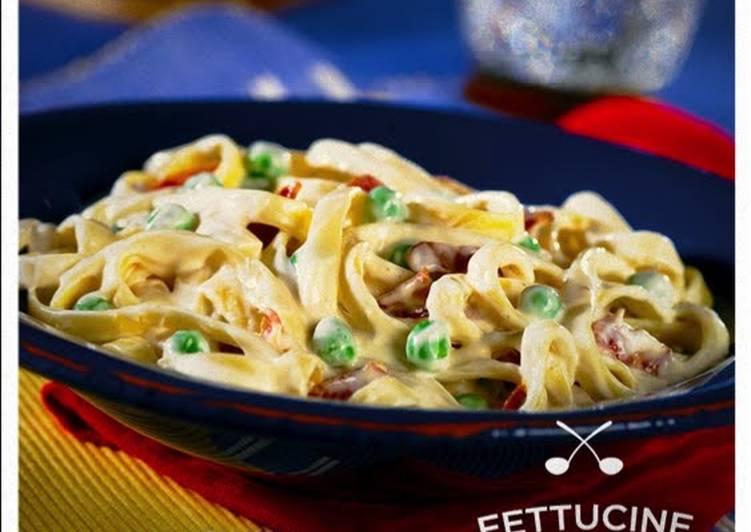 Recipe: Tasty Fettuccine Carbonara