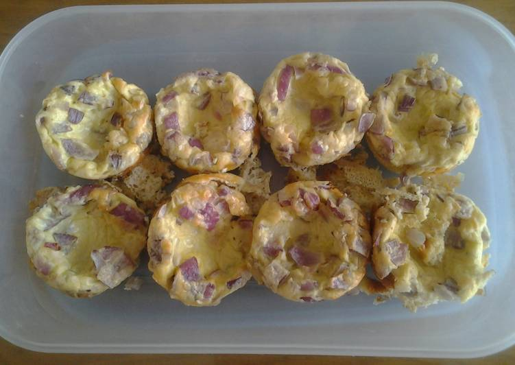 How to Make Super Quick Homemade Egg muffins