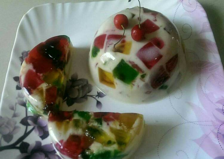 Top 10 Dinner Easy Autumn Broken Glass Jelly Pudding