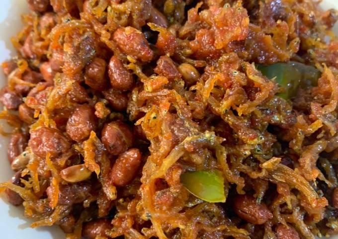 Sambal Goreng (Kering) Teri Kacang