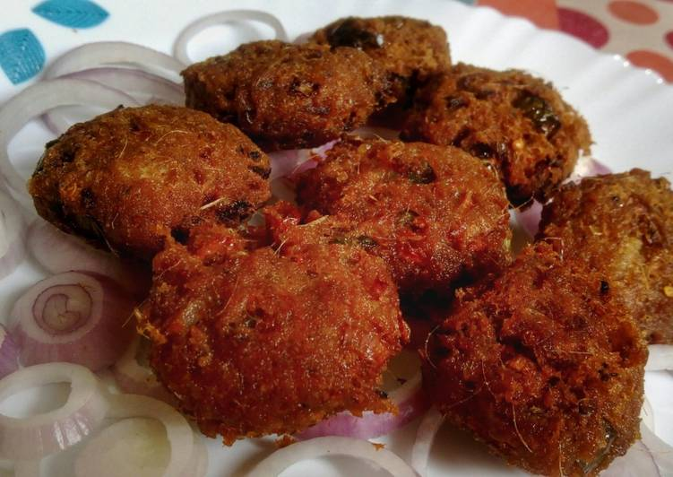 Fish Fritters/Bombay Duck Fish Pakora