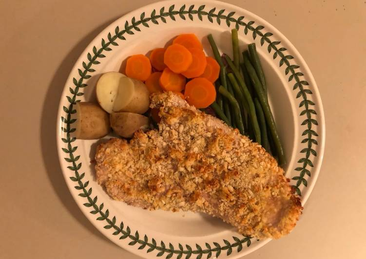 Simple Turkey Oven-baked Escalopes