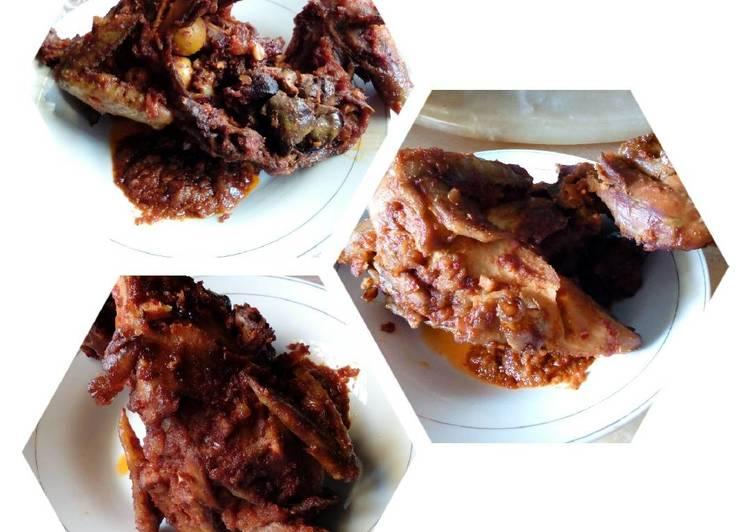 Ayam Kampung Panggang selimut sambal
