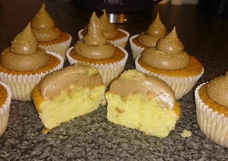How to Prepare Favorite Vanilla & chocolate cupcakes