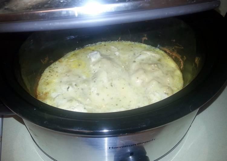 Crock Pot Freezer Meal Creamy Ranch Chicken