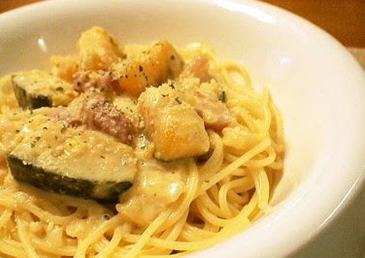 Rich Kabocha Cream Pasta, Helping Your To Be Healthy And Strong with The Right Foods