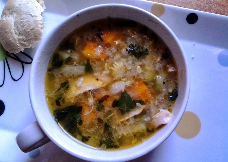 Recipe of Super Quick Homemade Soothing Chicken Soup
