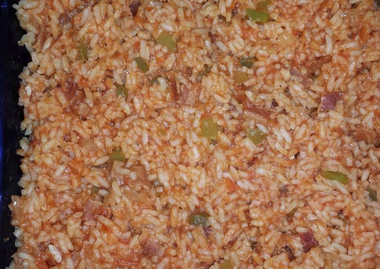 Recipe: Yummy John's Spanish Rice