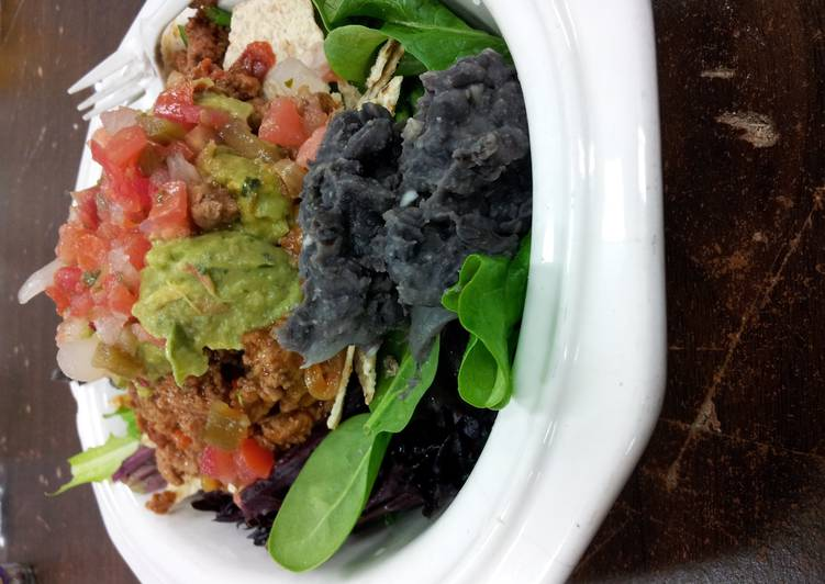 California style Fresh and Healthy Taco Salad