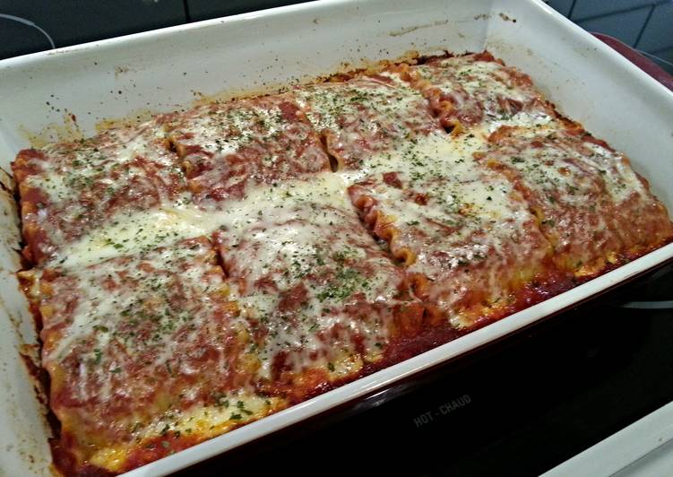 Easy Recipe: Delicious Lasagna roll ups