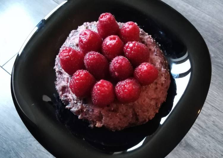 Bowl cake à la framboise