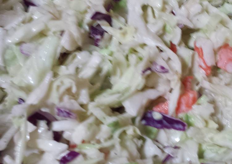 Recipe of Super Quick Homemade Almost KFC Slaw