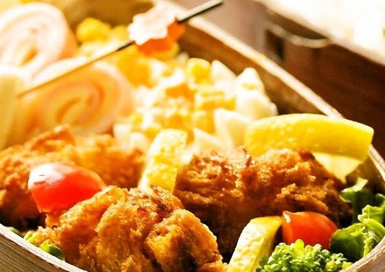 Easiest Way to Prepare Tasty Kabocha Squash Croquette Bento