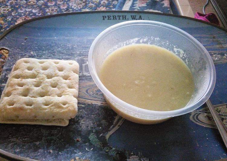 Angel Soup 115 calories per serving