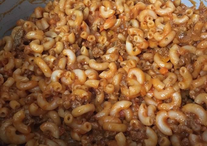 Recipe of Instant pot Goulash Very Simple