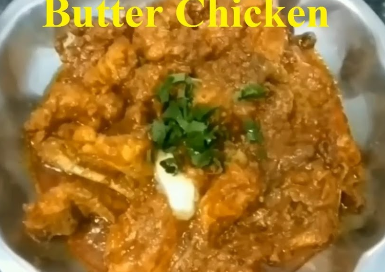 Butter Chicken Recipe | How To Make Butter Chicken At Home | Delicious Butter Chicken In 20 Minutes