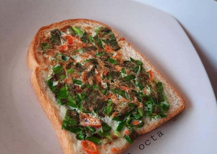 Cara membuat DIET MAYO (Egg white Toast)