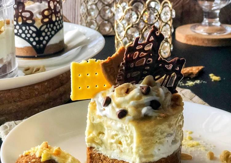 Hazelnut Biscoff Cheesecake