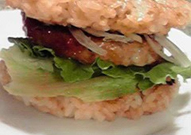 Mos Burger-style Chicken Rice Burger