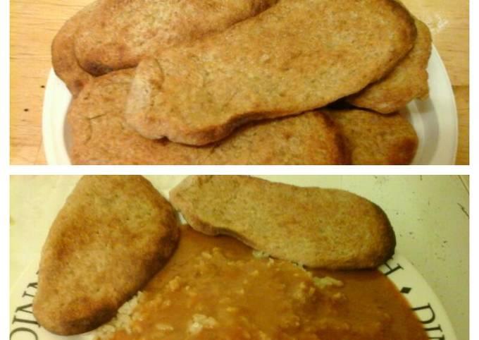 Easy Plain Naan Bread