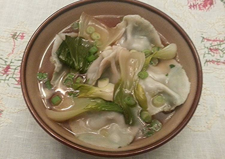 Veggie Dumpling Hong Kong Noodle Bowl