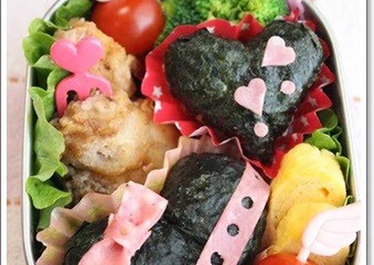 The Meals You Pick To Feed On Will Effect Your Health Easy Heart-Shaped Rice Ball Bento for Valentine's Day