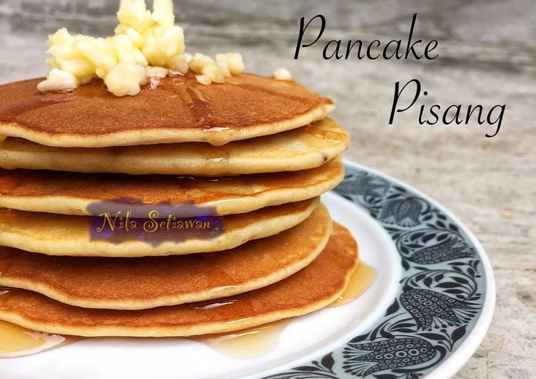 Resep Pancake Pisang oleh Nila Suteja - Cookpad
