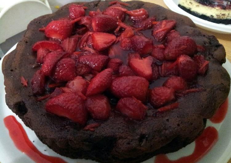 How to Prepare Yummy AMIES Strawberry Orange Chocolate Cake