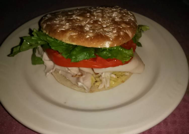 Simple Way to Prepare Homemade Dean' s Spicey As Hell Turkey Sandwich