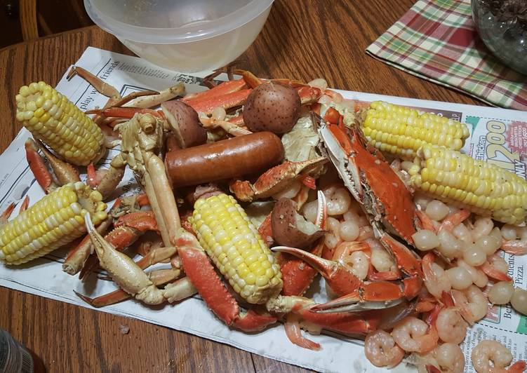 Simple Way to Prepare Favorite Crab/Seafood Shack Boil