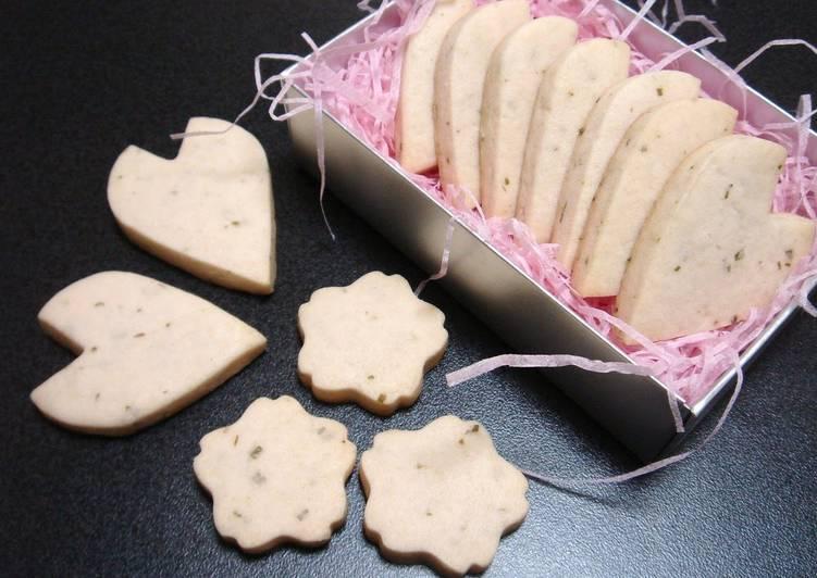 Simple Way to Prepare Award-winning Sakura Petal Cookies
