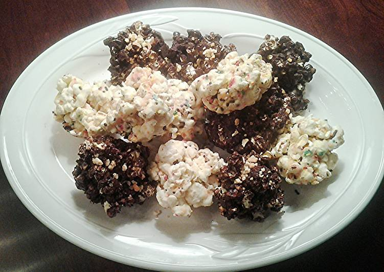 The Simplest Way to Make Perfect Halloween Popcorn Balls