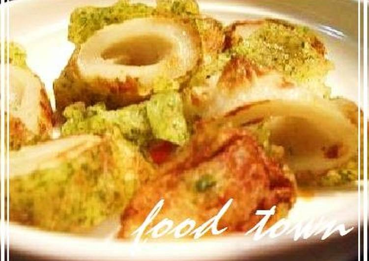 Absolutely Ultimate Dinner Ideas Spring Chikuwa Fish Sticks and Cheese Isobe-yaki