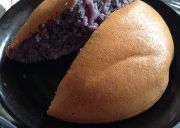 How to Prepare Delicious Simple Purple Sweet Potato Cake Made in a Rice Cooker
