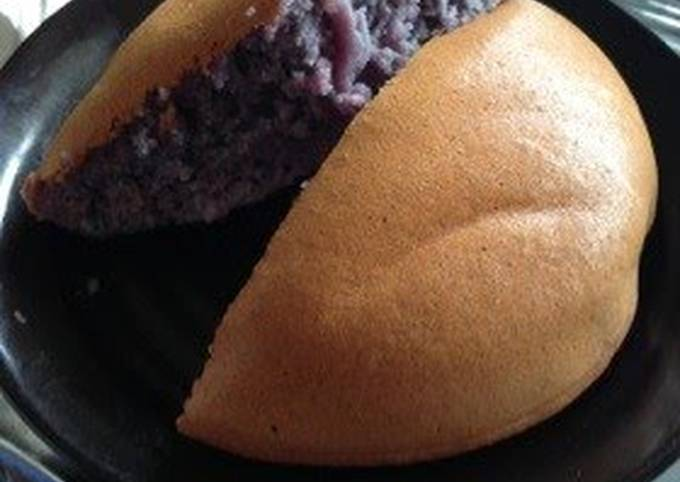 Simple Purple Sweet Potato Cake Made in a Rice Cooker