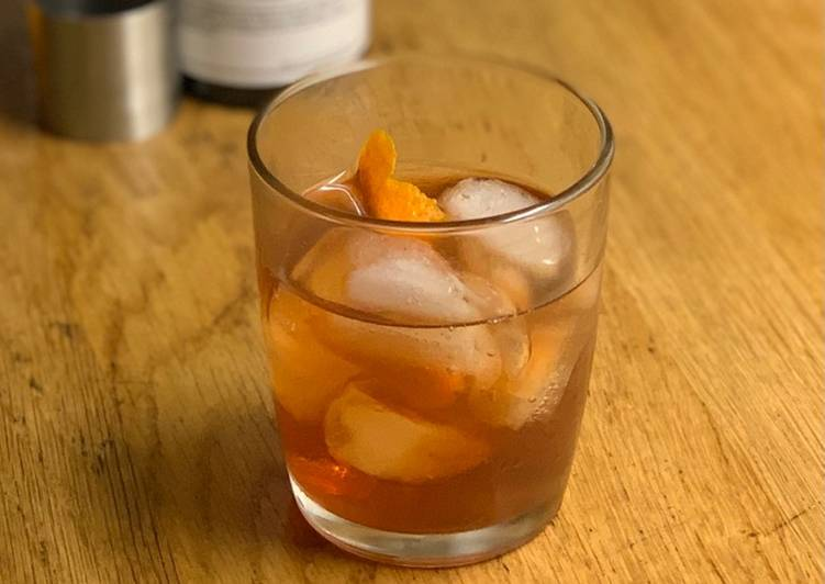 Easiest Way to Prepare Perfect Old fashioned