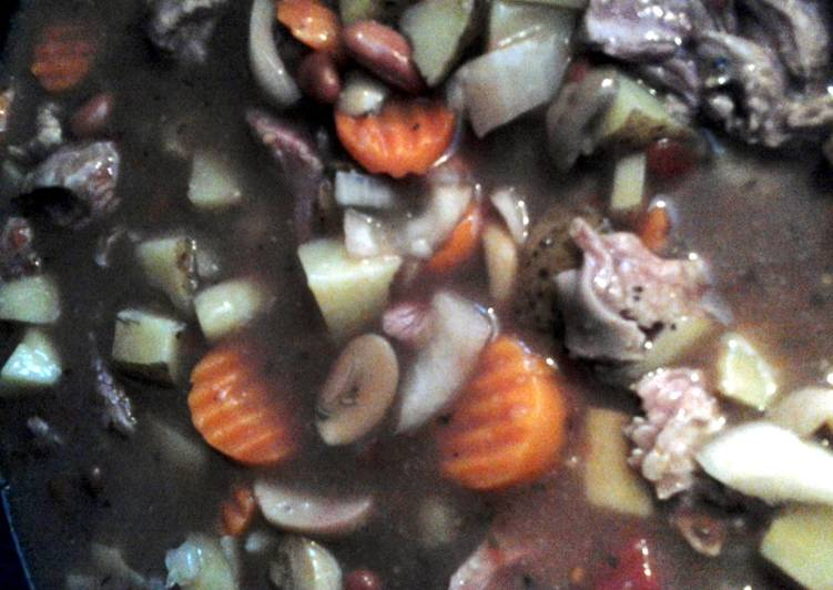 Recipe of Speedy Crockpot beef stew my way.