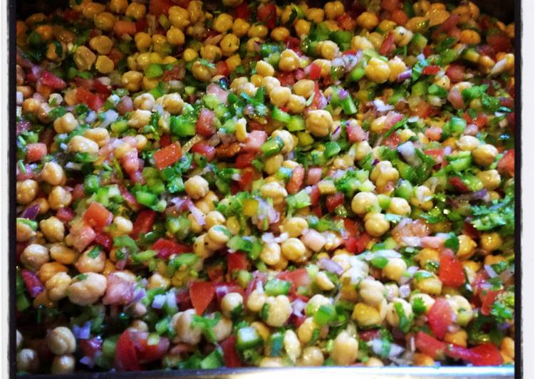 Easiest Way to Prepare Award-winning Chickpeas Salad