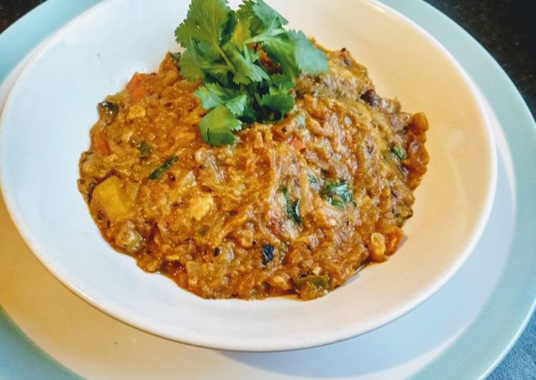 Simple Way to Prepare Favorite Aubergine fills /Baingan ka bharta