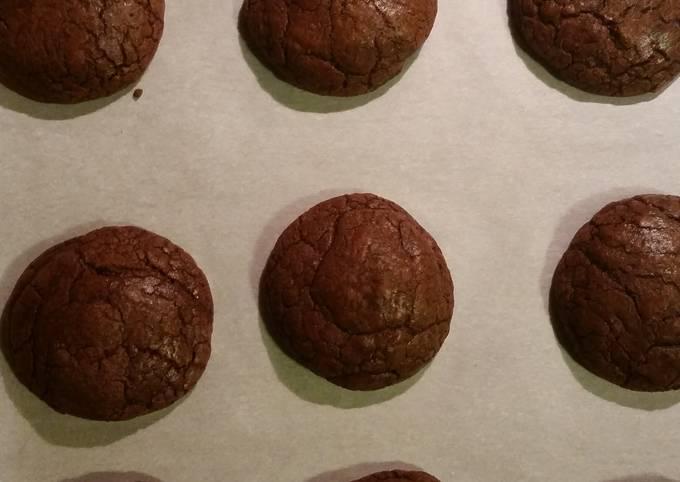 Chewy Chocolate Mocha Cookies