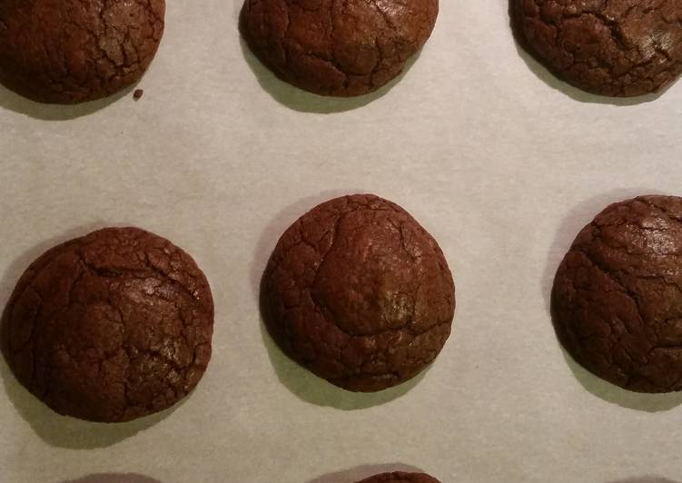 Chewy Chocolate Mocha Cookies