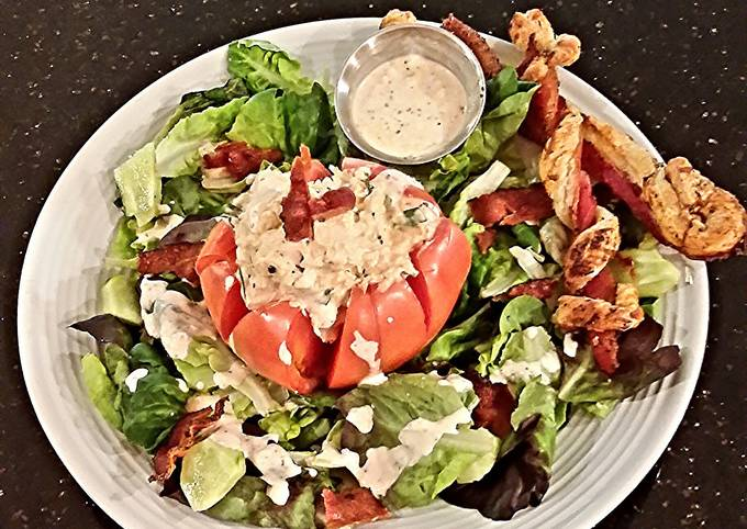 Recipe: Yummy Chicken Salad Stuffed Tomato