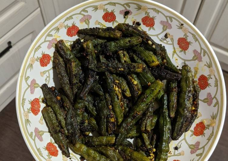 Steps to Make Ultimate Amchur bhindi