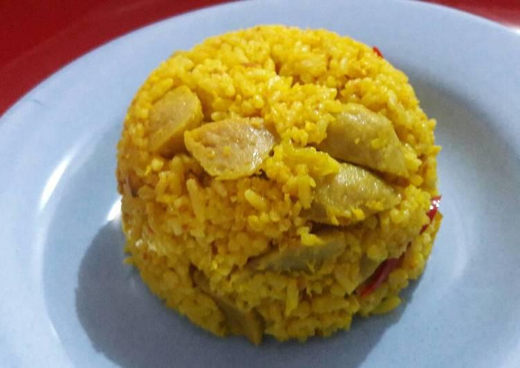 Nasi kuning kencur resep dari mama