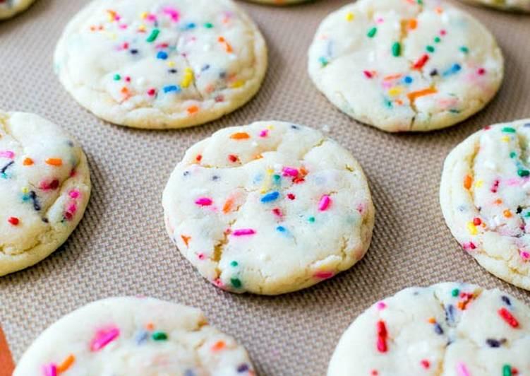 sugar cookies with sprinkles