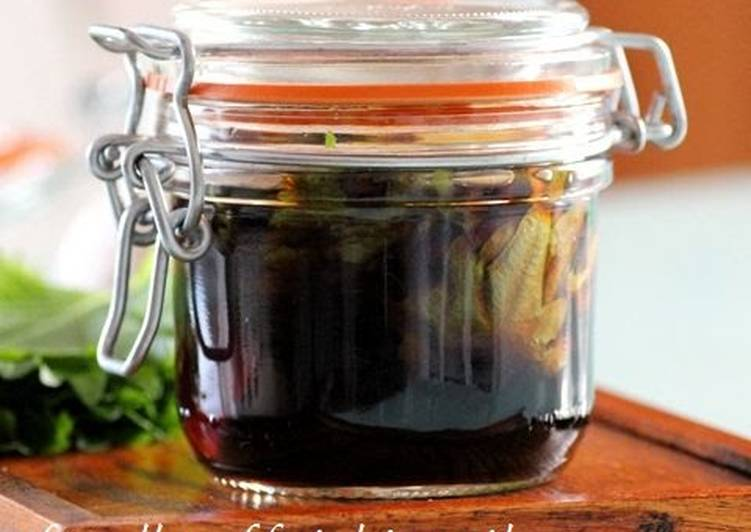 Foods That Can Make You Happy Shiso Garlic Soy Sauce