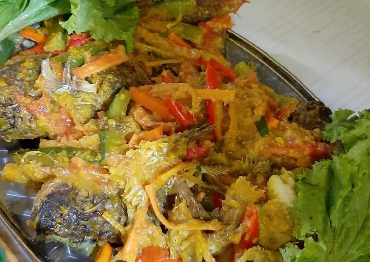 Acar kuning ikan Nila