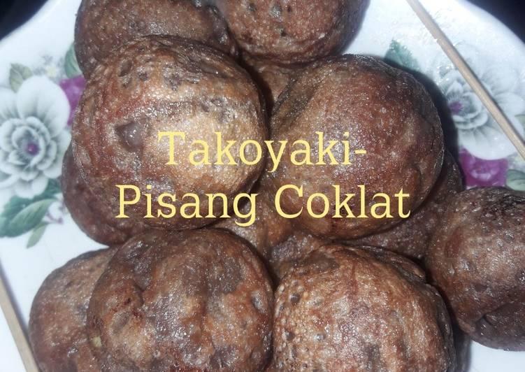 Takoyaki-Pisang Coklat