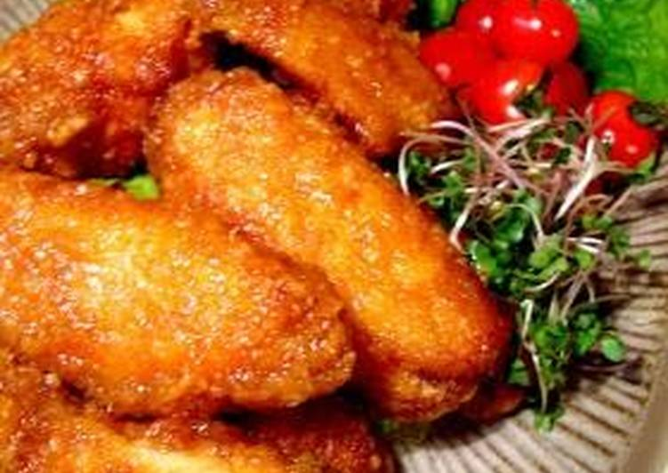 Our Family's Juicy Fried Chicken Wings