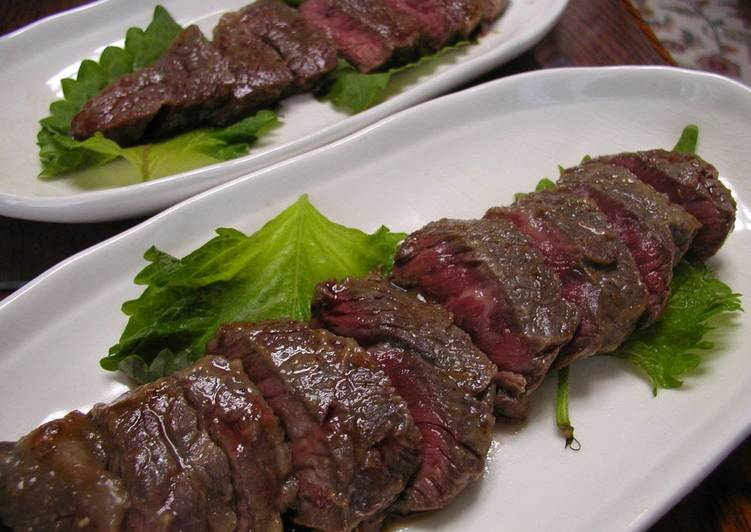 Foods That Can Make Your Mood Better Australian Beef Steak with Sansho Pepper and Miso